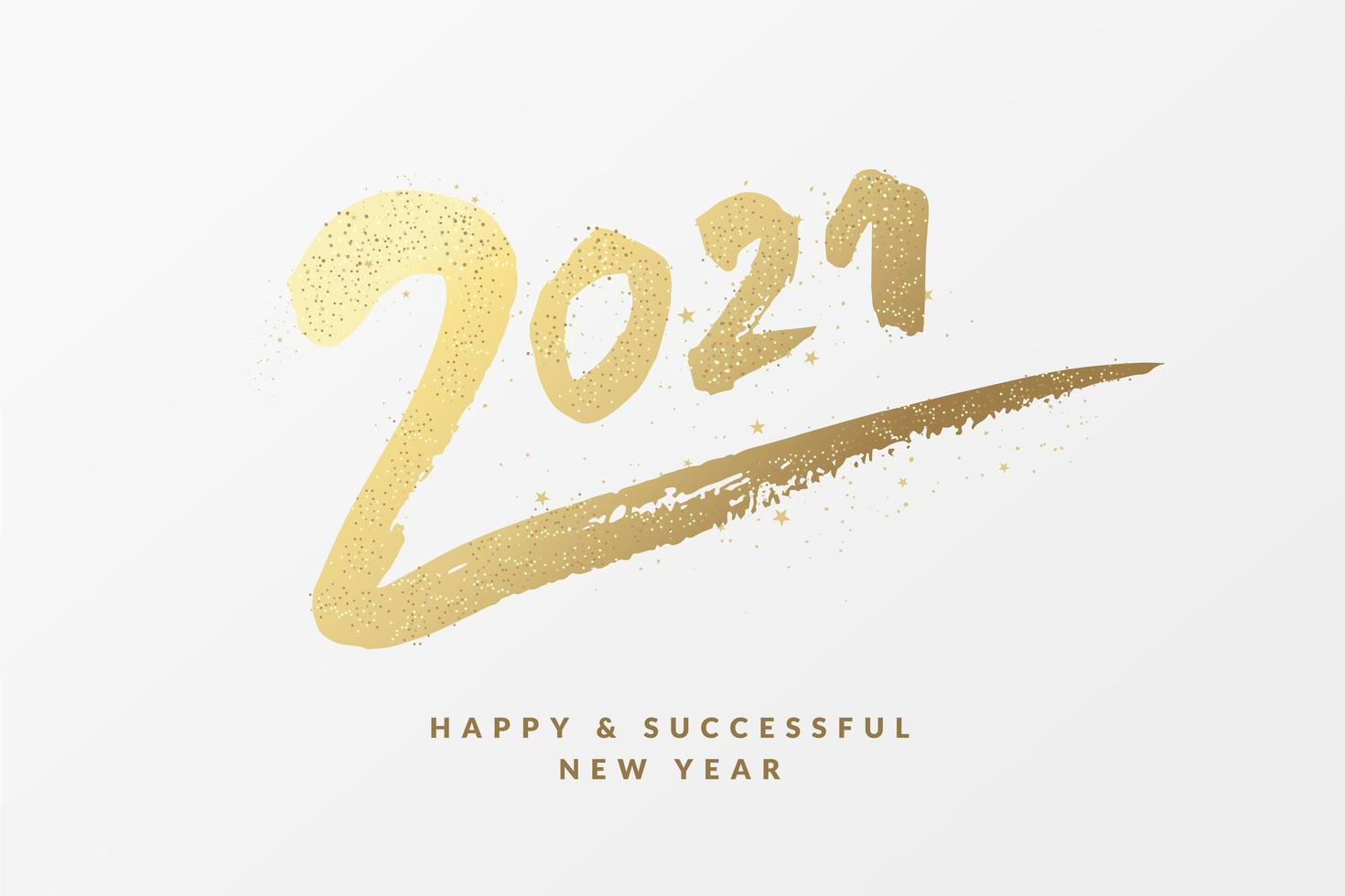 1418936-carte-de-voeux-bonne-annee-2021-vectoriel