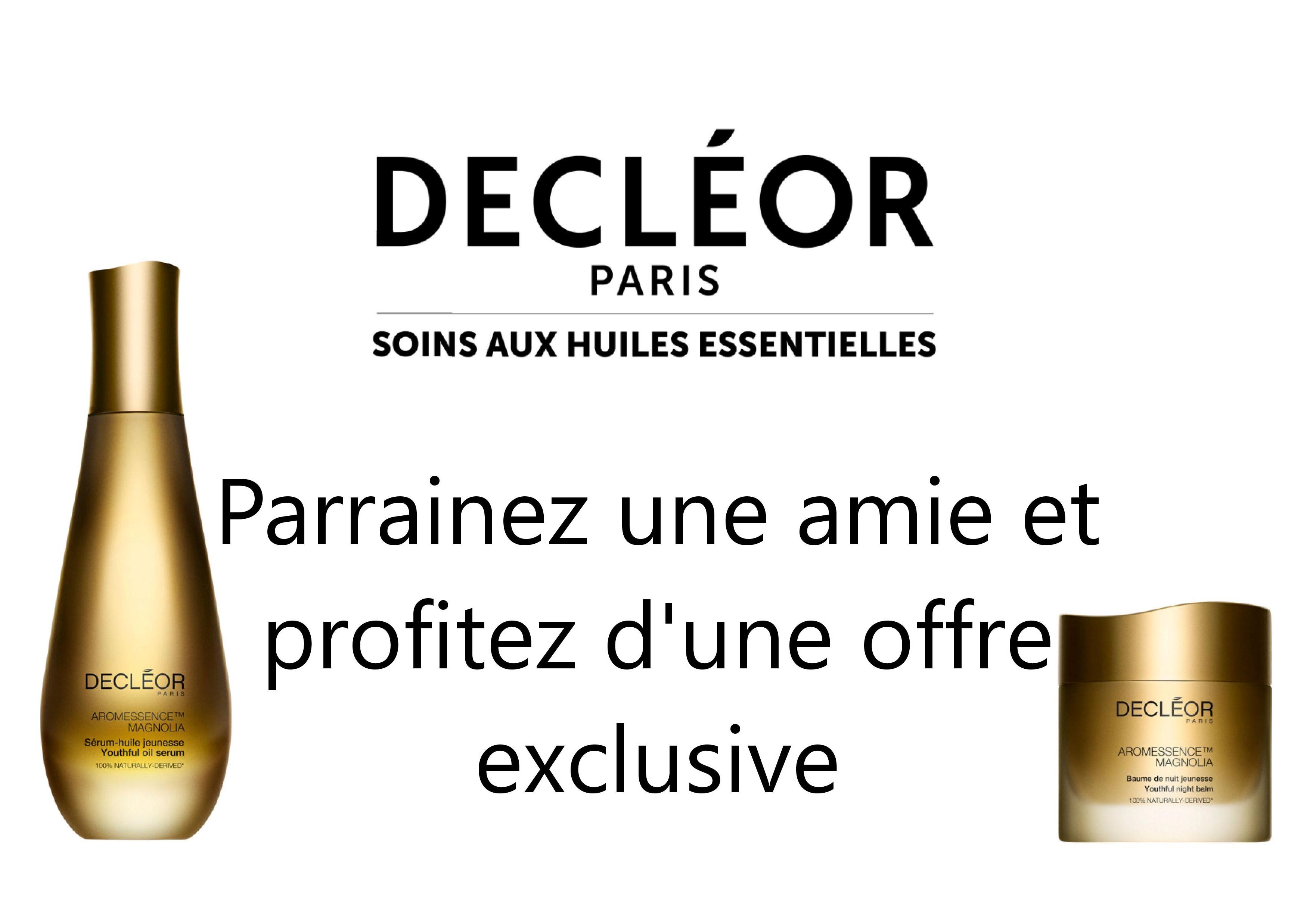 Parrainage Decleor A4
